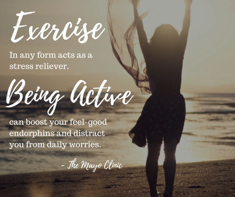 Being active pic