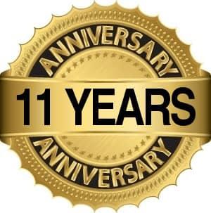 11 years bc