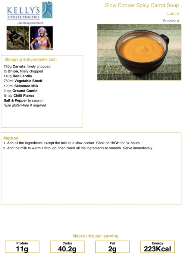 Carrot Soup pic