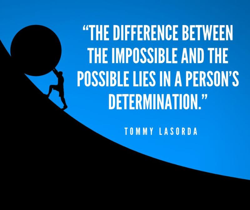 Determination pic