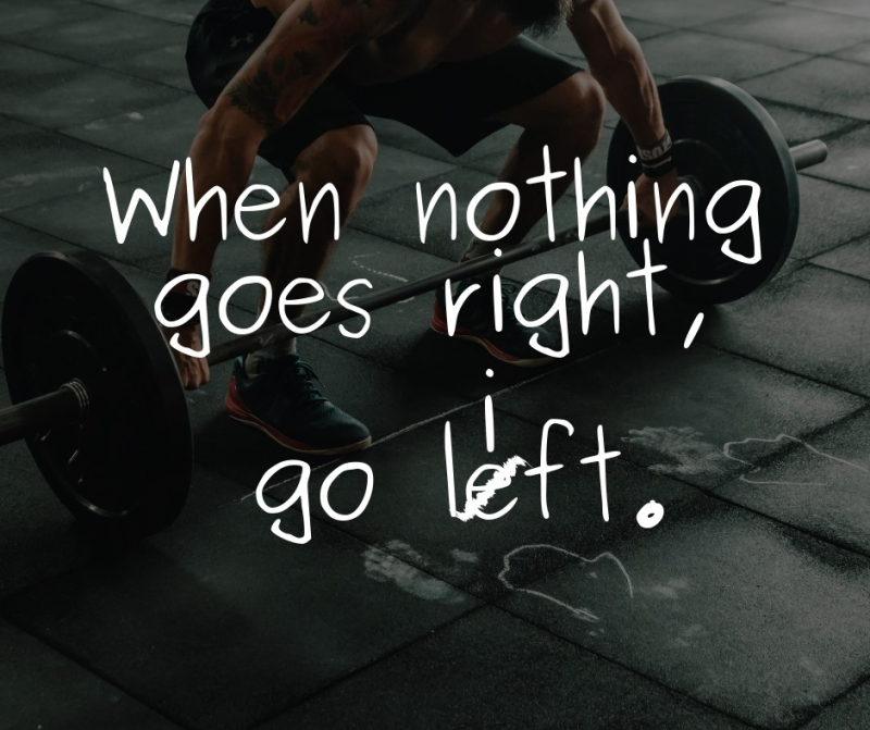 Go left pic
