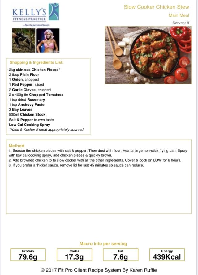 Chicken stew pic