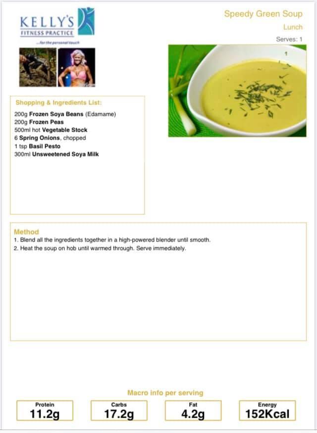 Green soup pic